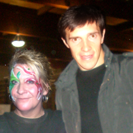 Curlie With Pavel Datsyuk